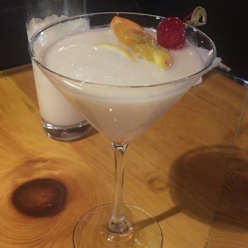 white drink